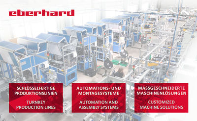 Presentations Eberhard AG Automations- und Montagetechnik